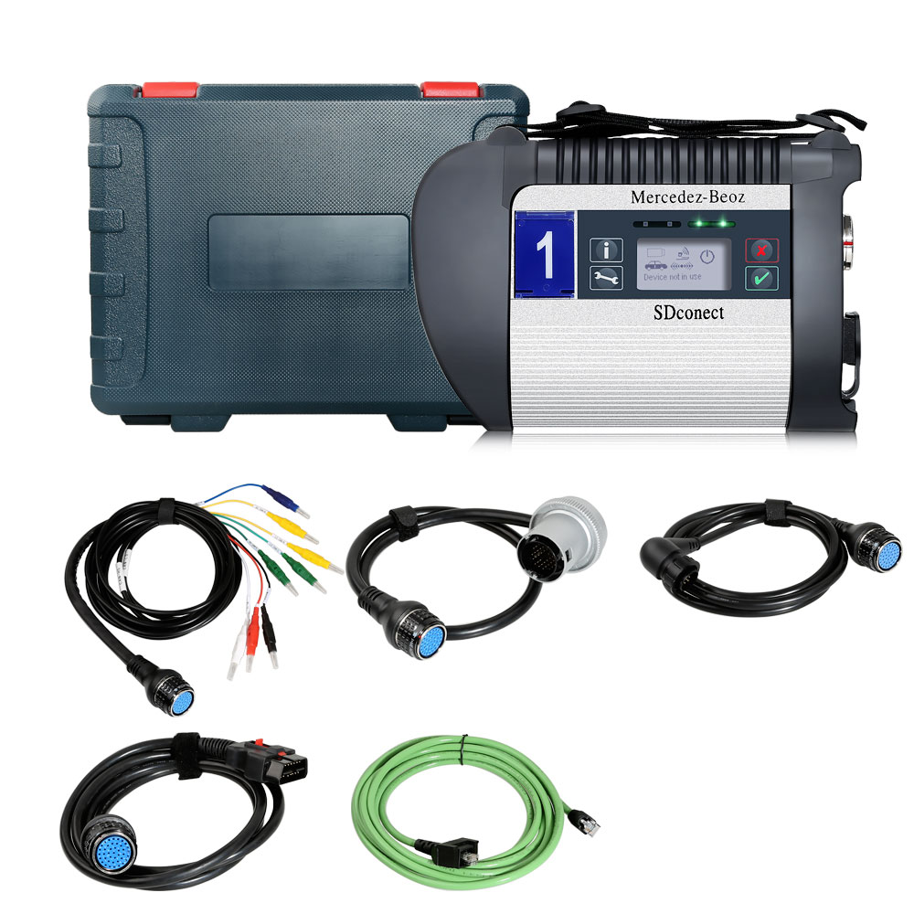 For Mercedes 12V and 24V trucks, MB SD Connect C4 Plus Doip original 1:1 clone diagnostic MB Star C4 and Doip